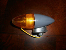 NOS Bicycle Harley Amber Grey Bullet Rocket Torpedo Markers Light Signal