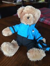 """Gutter"" Russ 11"" Bowling Bear Plush With Bag And Shirt"