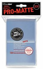 100 ULTRA PRO CLEAR PRO MATTE DECK PROTECTORS SLEEVES MTG Standard Gaming Colors