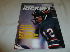 USFL KICKOFF FOOTBALL MAGAZINE VOL 3 ISSUE 5 JIM KELLY HOUSTON GAMBLERS SCOUTING