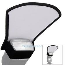 Flash Diffuser Softbox Silver/White Reflector for Canon Nikon Sony Speedlite New