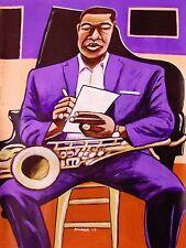 JOHN COLTRANE PRINT poster my favorite things love supreme blue trane cd lp sax