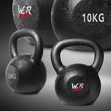 Cast Iron Kettlebell Gym Fitness & Exercise Strength Condition Training 10KG
