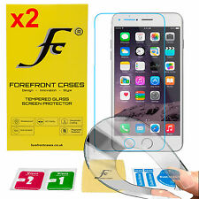 Forefront Cases® 9H HD Tempered Glass Screen Protector Shield for Apple iPhone 7