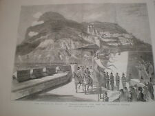 Prince of Wales at Malta en route to Casemate Square 1876 print ref V