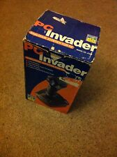 Logic 3 PC Invader Joystick WITH BOX vintage computer game accessory memorabilia