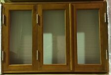 BIFOLD FRENCH WINDOWS, SOLID CEDAR TIMBER, 1500W X 1000H, - NEW NOW IN STOCK