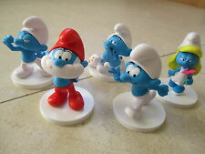 SCHTROUMPFS SMURFS PEYO Lot 5 figurines neuves RARE Collector !
