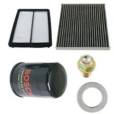 NEW Acura TL 09-10 3.5L Base Tune Up Kit Filters Air & Cabin & Oil Gasket Mann