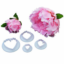 FMM Cutter Peony Flower Petal Shape Fondant Cake Icing Cutting Tool Sugar Paste