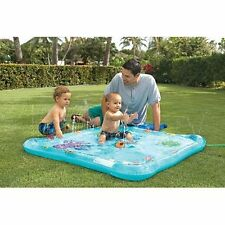 NEW Li'l Squirt Baby Pool Inflatable Sprinkler Kids Hot Summer Day FREE SHIPPING