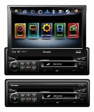 "FARENHEIT TI-740NB DVD/CD PLAYER 7"" TOUCH SCREEN MONITOR BLUETOOTH IPOD CONTROLS"