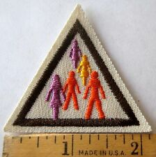 Retired Girl Scout Brownie ALL IN THE FAMILY TRY-IT Ancestry History Patch Badge