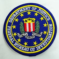 TOPPA PATCH AMERICANA FBI FEDERAL BUREAU OF INVESTIGATION F.B.I. X FILES STEMMA