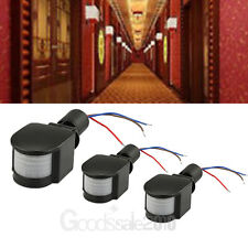 3X 12M 180° Security PIR Infrared Motion Sensor Detector Wall LED Light Outdoor