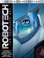 Robotech: The Complete Set DVDs  Blu-ray Discs Science-Fiction Anime Mecha New