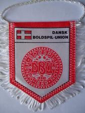 Wimpel Pennant Fussball Verband Dänemark Denmark # 8 x 10 cm