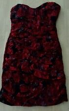 Baileyblue red and black  Lace Evening Cocktail Dress Size XL Juniors.