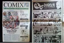 Comix Il Giornale dei Fumetti n 10 * Fuoriserie Diabolik Inedito parte 1 di 2 *
