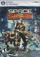 SPACE SIEGE Strategy RPG XP/Vista PC Game NEW in BOX