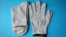 Pair Of Conductive Electrode Gloves & Conductive Socks Use With TENS/EMS Machine