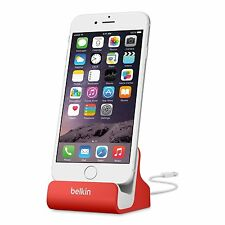 GENUINE NEW SEALED BELKIN CHARGE /SYNC STAND DOCK IPHONE 6/6 Plus 5S 5C 5 F8J045