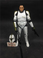 Star Wars loose figure Tr652 H3 red clone trooper
