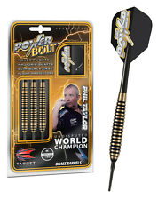 SOFT TIP TARGET PHIL TAYLOR POWER BOLT BRASS DARTS SET 18g grams Softip
