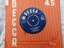 MARK WYNTER KICKIN' UP THE LEAVES / THAT'S WHAT I THOUGHT decc  pop '60's 45 rpm