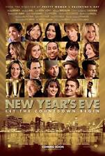 NEW YEAR'S EVE Movie Promo POSTER UK Michelle Pfeiffer Zac Efron