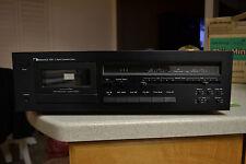 Nakamichi 480 Black Cassette Deck Made in JAPAN