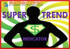 **SuperTrend** Powerful Advanced Meta Trader MT4 Indicator, Forex Trading System