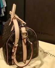 AUTHENTIC LOUIS VUITTON SPEEDY 30 BANDOULLERE CROSS BODY BAG #DU0191
