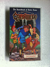 """BRAND NEW"" ANIMATION VIDEO ""THE MAGICAL ADVENTURES OF QUASIMODO"" VHS VIDEOTAPE"