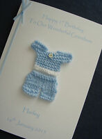 Personalised 1st 2nd 3rd Birthday Card Son/ Godson/ Grandson/ Nephew/ Little Boy