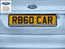 Richbrook Ford Logo Car Van Number Plate Surround Focus Fiesta Ka Kuga Mondeo