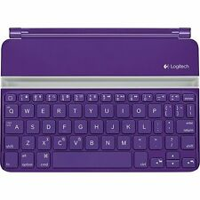 Logitech Ultrathin Keyboard Cover Purple for iPad Mini Mini 2 Mini 3