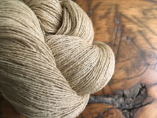 Tussah Silk Noil Yarn, 100 Grams, Raw Silk, Undyed