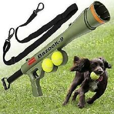 Dog K9 Tennis Ball Launcher Thrower Shooter Gun Cannon Training Aid Fetch Tosser