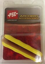 NEW PSE ARCHERY YELLOW COLORED RUBBER PANEL GRIPS FOR PSE BOW HANDLE