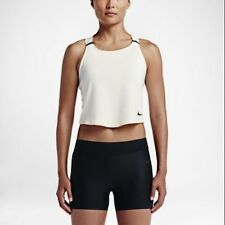 Nike NikeLab Essentials Baselayer Women's Training Tank Top - Size XS Sail/BLK