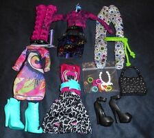 NEW Iris Clops Monster High Doll Clothes Outfit Shoes Dress Boots 3 Fashion Lot