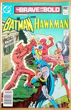 the BRAVE and the BOLD #164 BATMAN and HAWKMAN (1980 DC Comics) ~ VF Comic Book