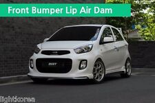 ZEST Aero Parts Front Bumper Lip Unpainted For KIA Picanto 2016 2017+