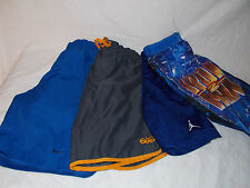 Nike Jordan Iron Man Running Basketball Swimming Shorts Lot of 4 Boys