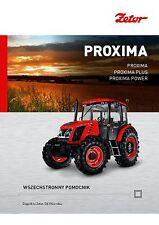 Zetor Proxima 09 / 2015 catalogue brochure tracteur Traktor tractor