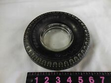 Vintage FIRESTONE TRANSTEEL RADIAL Rubber Tire Ash Tray