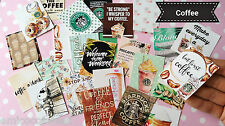 25xCoffee Planner Stickers,Starbuck Stickers,I love coffee,Card,Diary Planner