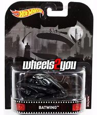 BATWING Batman VS Superman - 2017 Hot Wheels Retro Entertainment A Case IN-STOCK