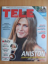 JENNIFER ANISTON on front cover TELE MAGAZYN 26/2016